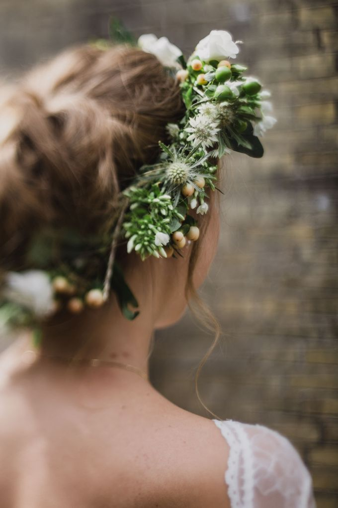 Caroline and Ricco rustic wedding by Atelier of memories - 003
