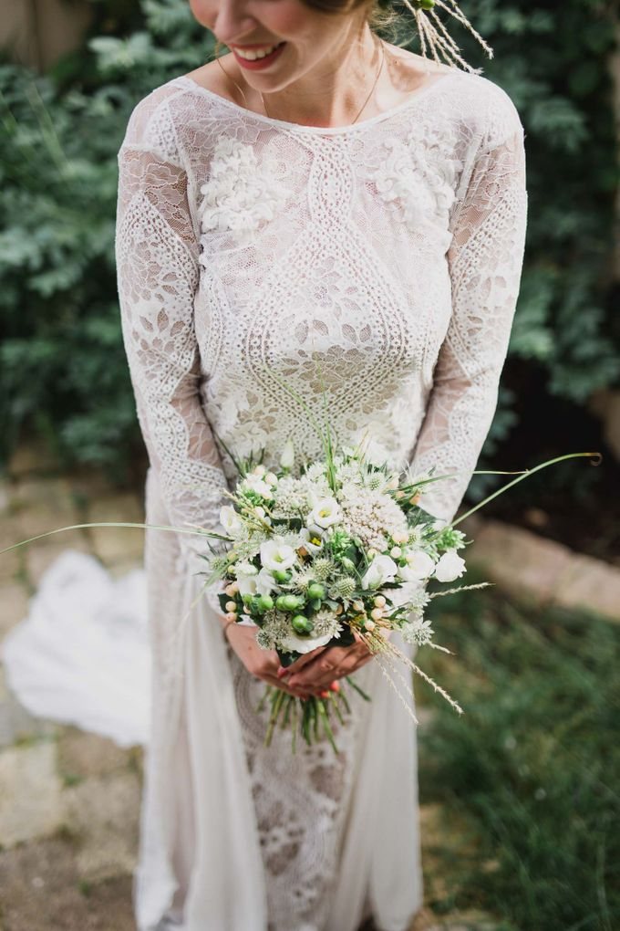 Caroline and Ricco rustic wedding by Atelier of memories - 005