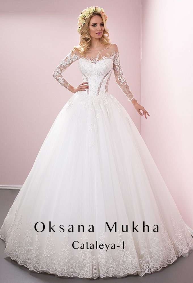Preview Wedding Collection 2017 by OKSANA MUKHA - 008