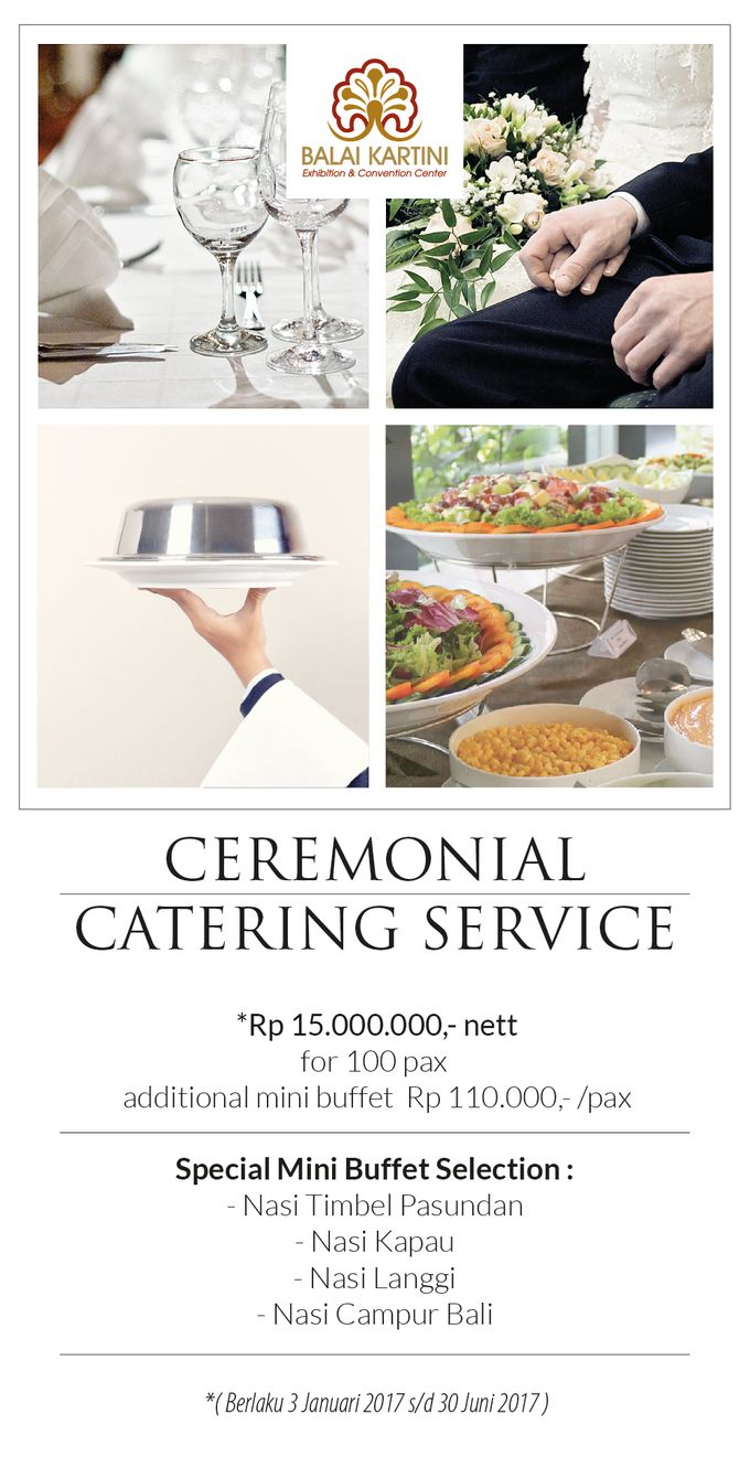 Wedding Promo by BALAI KARTINI - Exhibition and Convention Center - 002