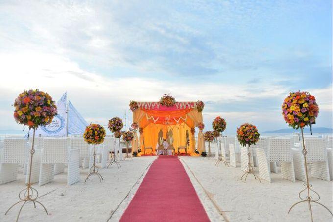 Beach Wedding by The Bellevue Resort - 002