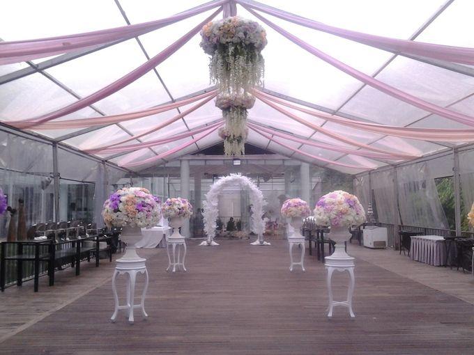 reception at Champaca Wedding Chapel by Padma Hotel Bandung - 009