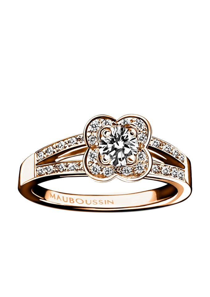 Chance of Love diamond engagement ring by Mauboussin by MAUBOUSSIN - 002