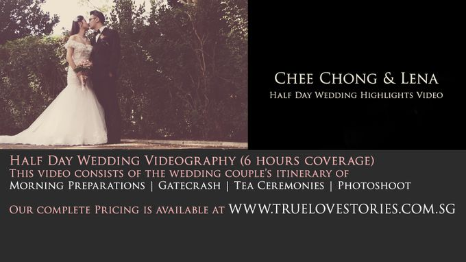 Half Day Feature of Chee Chong & Lena by True Love Stories - 001