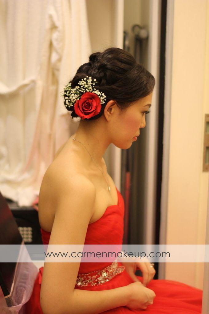 Brides Actual Day by Carmen Makeup & Hair - 008
