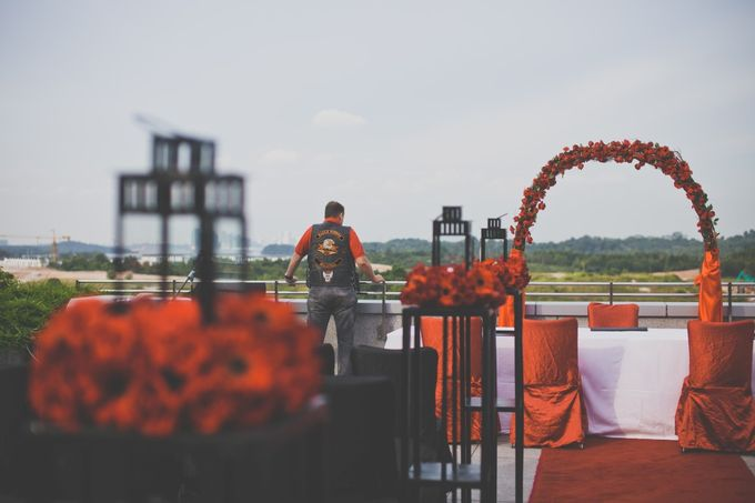 Wedding By The Harbour By Hotel Jen Puteri Harbour Johor