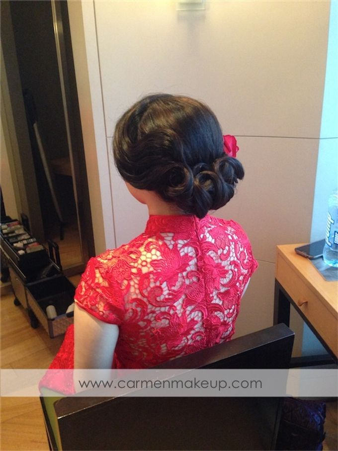 Brides Actual Day by Carmen Makeup & Hair - 019