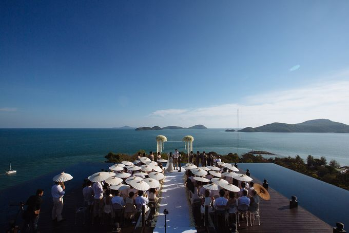 Villa Wedding with a Breathtaking View by Luxury Events Phuket - 011