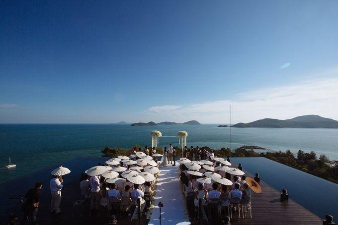 Villa Wedding with a Breathtaking View by Wainwright Weddings - 011