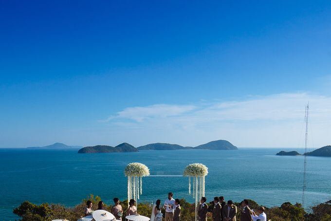 Villa Wedding with a Breathtaking View by Wainwright Weddings - 012