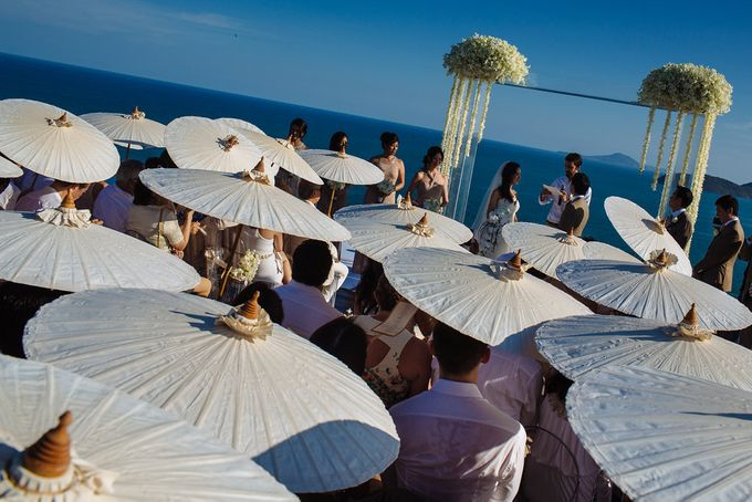 Villa Wedding with a Breathtaking View by Wainwright Weddings - 013
