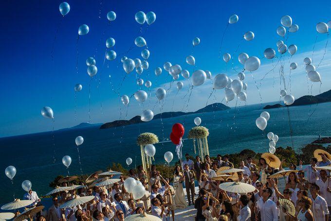 Villa Wedding with a Breathtaking View by Wainwright Weddings - 014