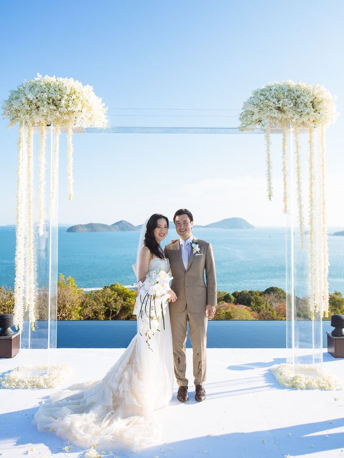 Villa Wedding with a Breathtaking View by Wainwright Weddings - 015