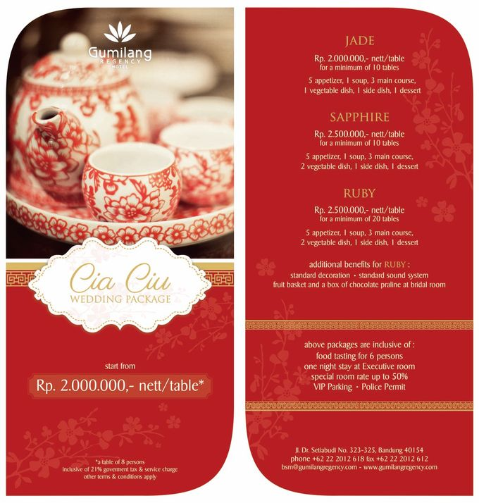 Wedding Packages by Gumilang Regency Hotel - 002