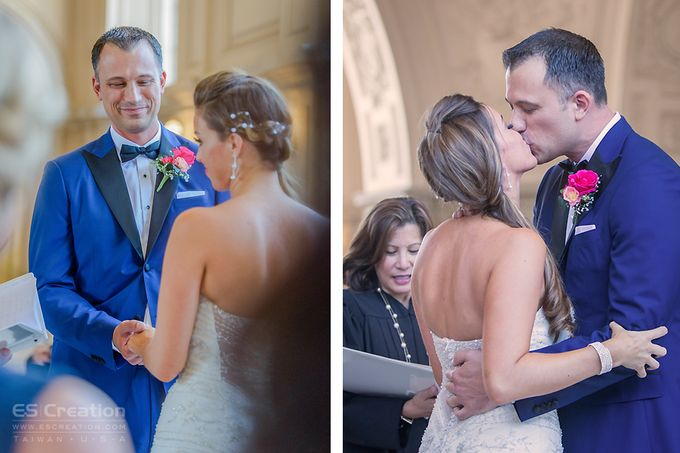 San Francisco City Hall Wedding by ES Creation Photography - 004
