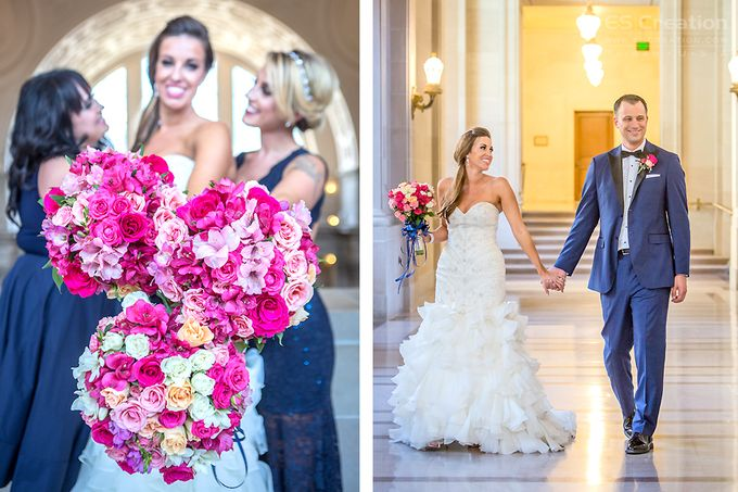 San Francisco City Hall Wedding by ES Creation Photography - 005