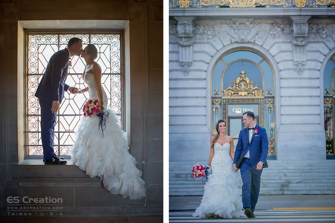 San Francisco City Hall Wedding by ES Creation Photography - 007