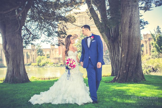 San Francisco City Hall Wedding by ES Creation Photography - 009