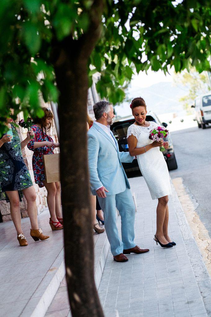 An Afro American wedding in Greece by MarrymeinGreece - 018