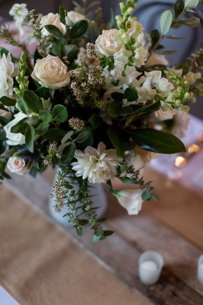 Ceremony and Reception by Affair with George  Florals & Event Styling - 024
