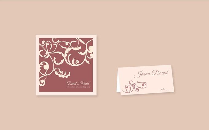 Wedding Invitations by Faith Creative Studio - 002