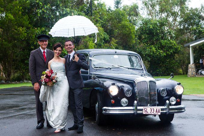 Classic Daimler major Magestic Wedding Car by Tic Tac Tours & Premier Limousines - 020