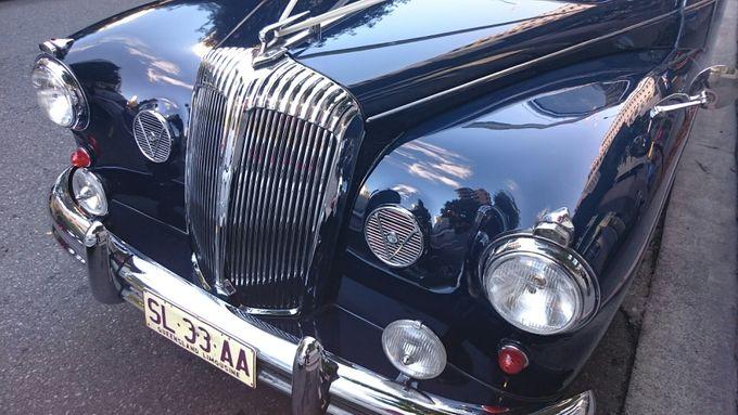 Classic Daimler major Magestic Wedding Car by Tic Tac Tours & Premier Limousines - 017