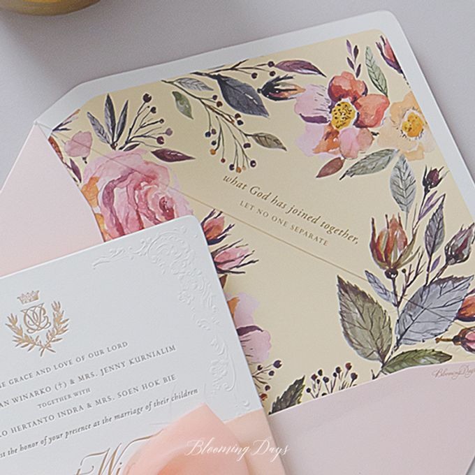 LUMINUOUS GLASS HOUSE by BloomingDays Invitation Studio - 005