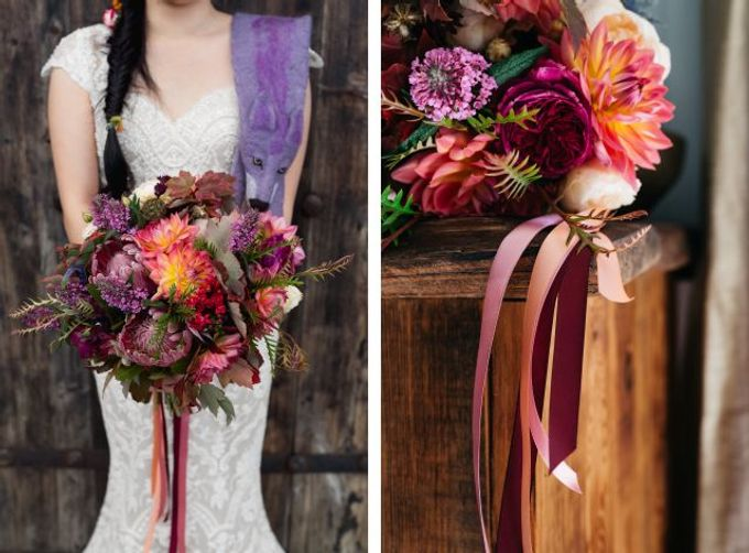 Autumn wedding by Wild Blossom Flowers - 002