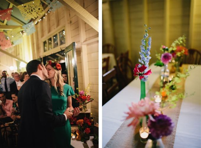 Mexican themed wedding by Wild Blossom Flowers - 009