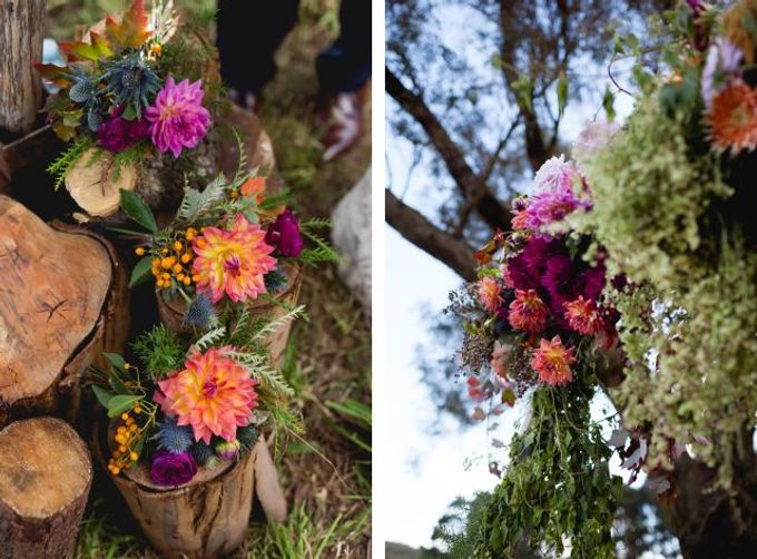 Autumn wedding by Wild Blossom Flowers - 009