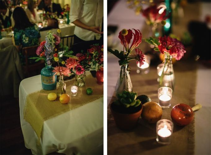 Mexican themed wedding by Wild Blossom Flowers - 011