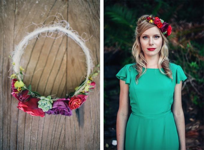 Mexican themed wedding by Wild Blossom Flowers - 002