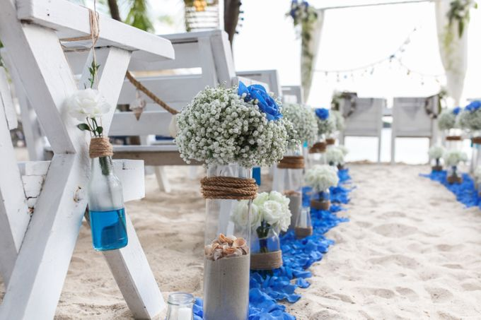 Beach Wedding at Coastes by Coastes - 001