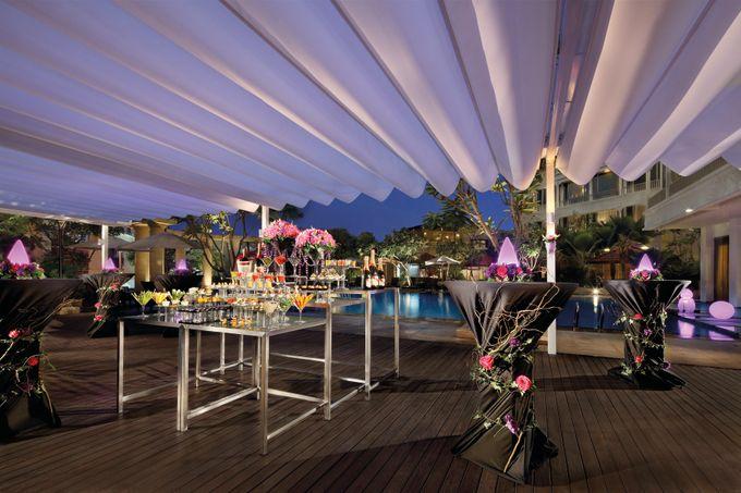 Park Hotel Clarke Quay Poolside Wedding - Evening by Park Hotel Clarke Quay - 002