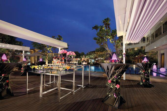 Park Hotel Clarke Quay Poolside Wedding - Evening by Park Hotel Clarke Quay - 001