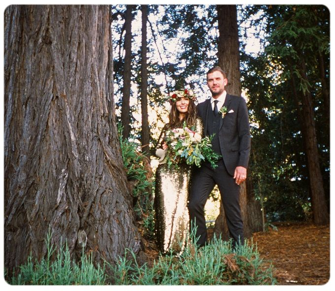 Wedding in the forest of the Santa Cruz Mountains by Stereo Photo Album - 010