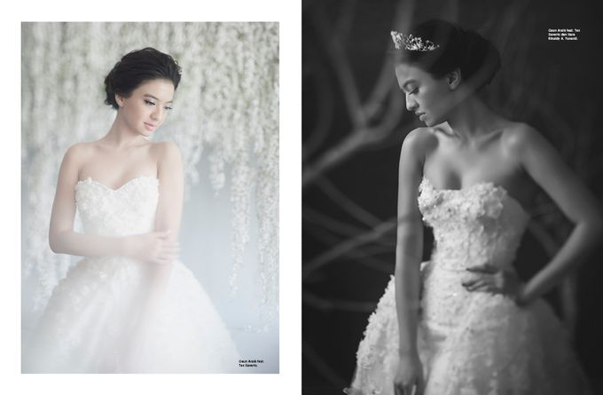 ARALE feat TEX SAVERIO Collection for RALINE SHAH at BRIDESTORY Magazine Second Edition by Bubah Alfian Make Up Artist - 003