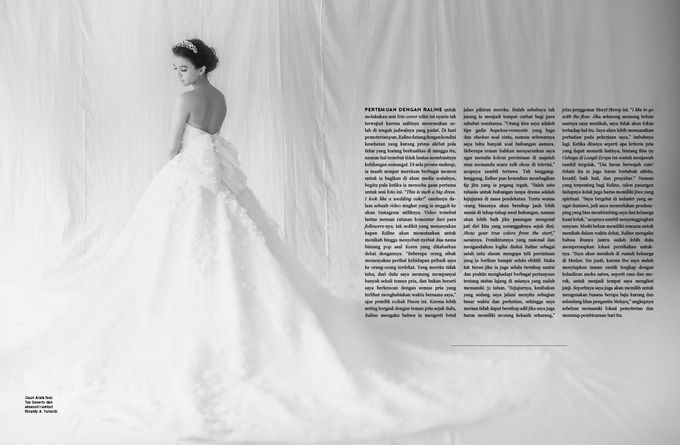ARALE feat TEX SAVERIO Collection for RALINE SHAH at BRIDESTORY Magazine Second Edition by Davy Linggar Photography - 004