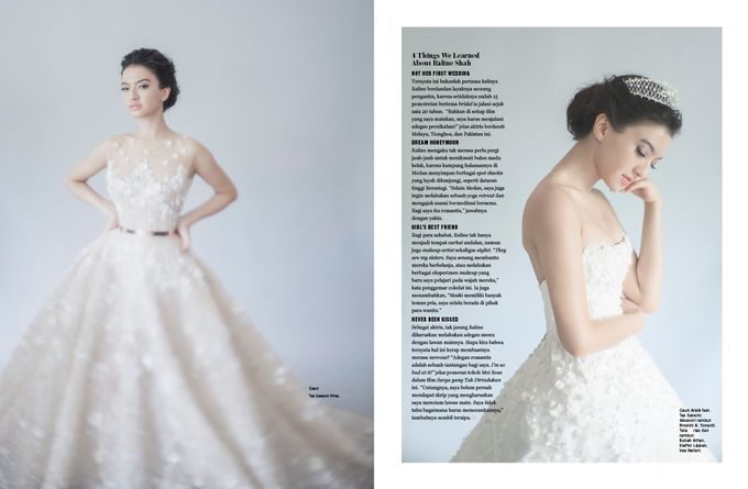 ARALE feat TEX SAVERIO Collection for RALINE SHAH at BRIDESTORY Magazine Second Edition by Bubah Alfian Make Up Artist - 005