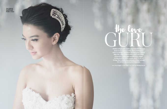 ARALE feat TEX SAVERIO Collection for RALINE SHAH at BRIDESTORY Magazine Second Edition by Bubah Alfian Make Up Artist - 002