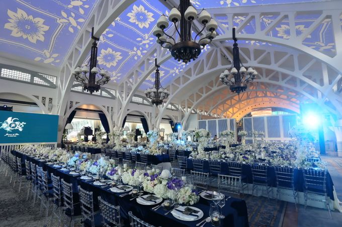 Fifty Shades of Blue by The Wedding Atelier - 001