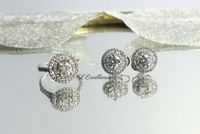 Wedding Day Jewellery Sets by L'Excellence Diamond - 002
