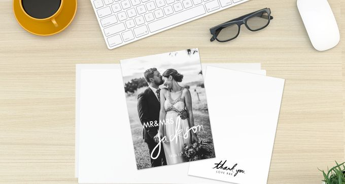 Thank You Cards (Portrait Style) by For the Love of Stationery - 004