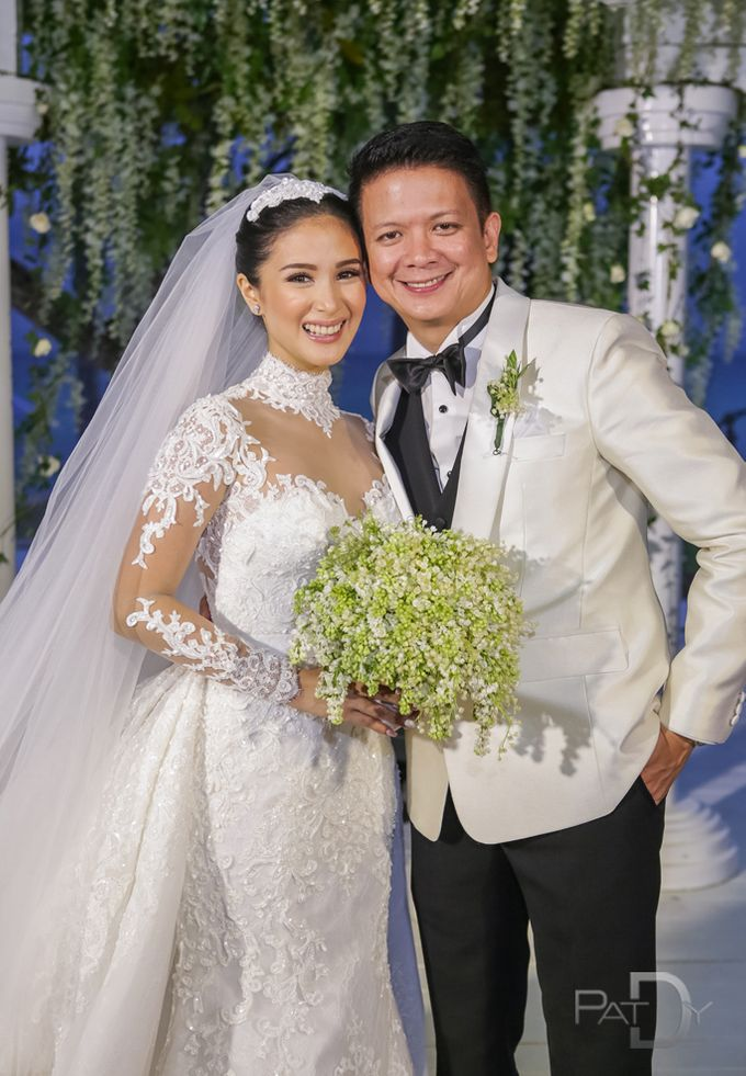 CELEBRITY Wedding Chiz and Heart by pat dy photography - 038
