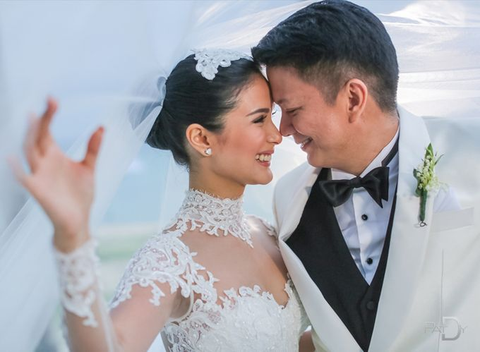 CELEBRITY Wedding Chiz and Heart by pat dy photography - 040
