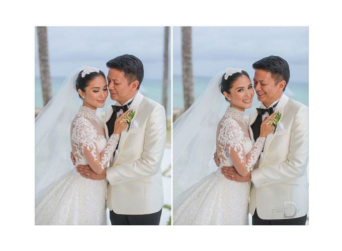 CELEBRITY Wedding Chiz and Heart by pat dy photography - 041