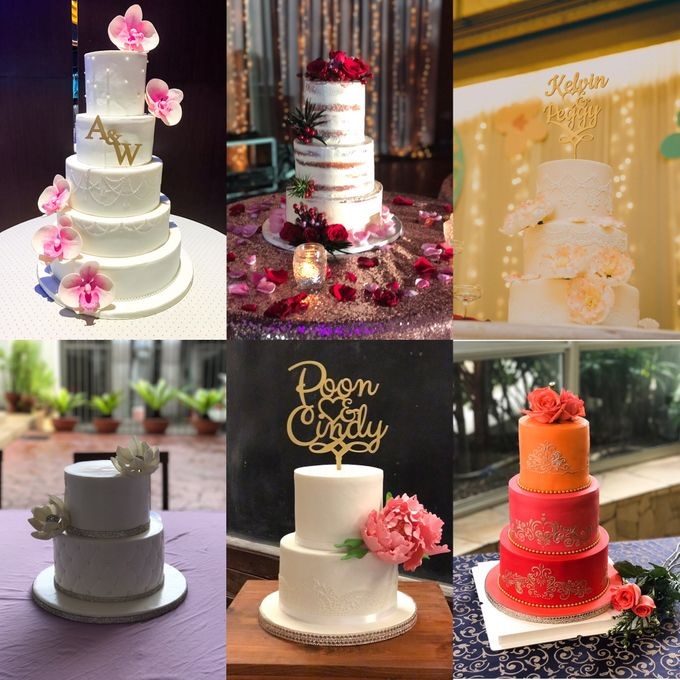 Wedding Cakes by The Quirky Taste - 014