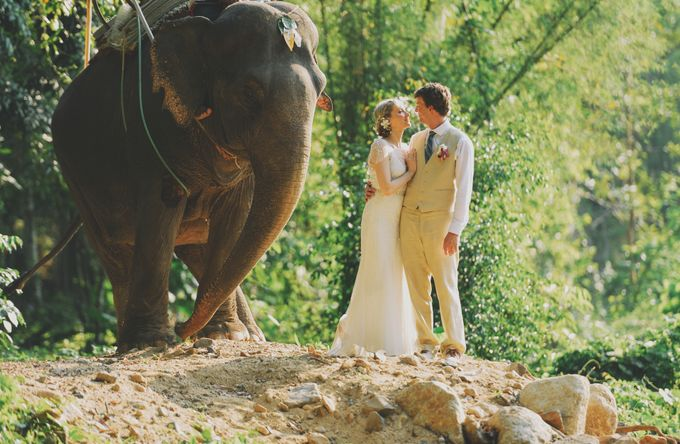 East meet west wedding at Bamboo island and Zeavola Phi Phi island by Lovedezign Photography - 024