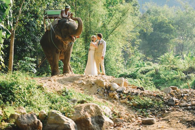 East meet west wedding at Bamboo island and Zeavola Phi Phi island by Lovedezign Photography - 025